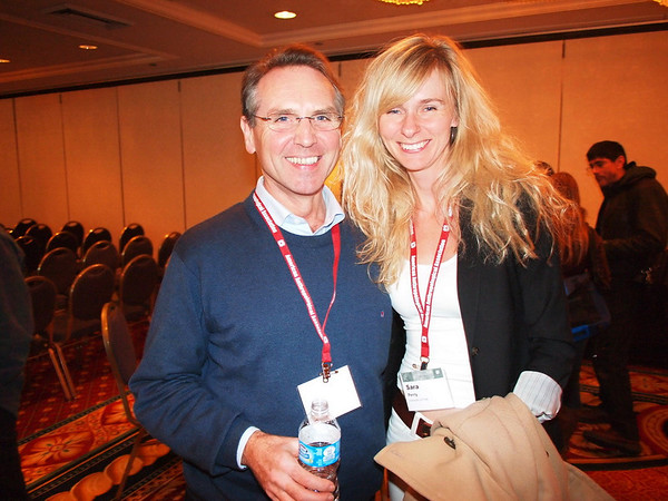 Terry Wright and Sara Perry