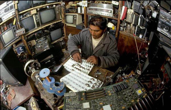 Making a Living (in Santos's Workshop), 2000.